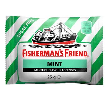 Mint sockerfri 25g Fisherman's Friend