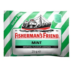 Mint sockerfri 25g Fisherman's Friend
