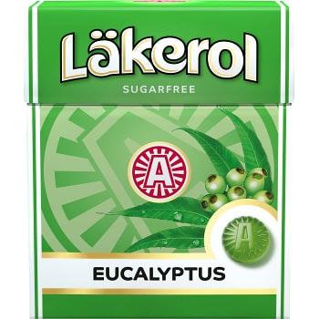 Eucalyptus 25g Sockerfri Läkerol