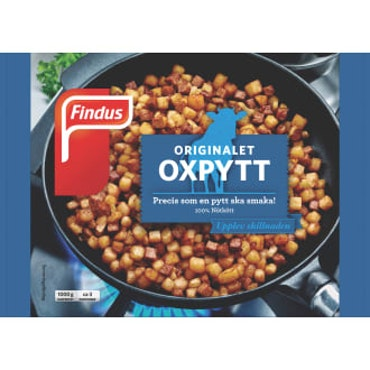 Oxpytt 1000g Findus