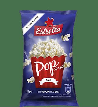 Smörsmak Micropop 80g Estrella