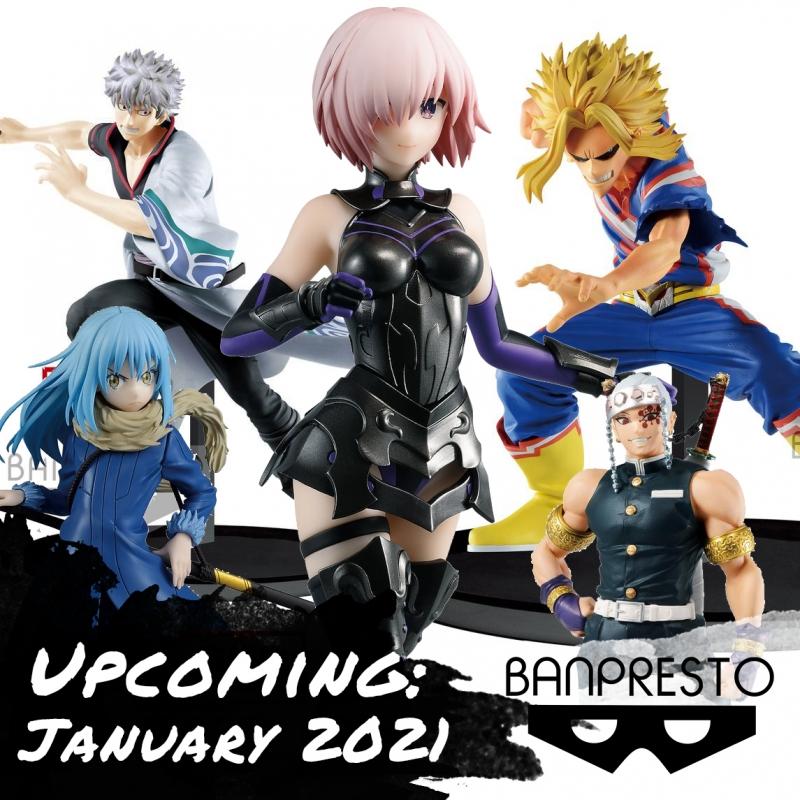 Banpresto New Figures in January 2021