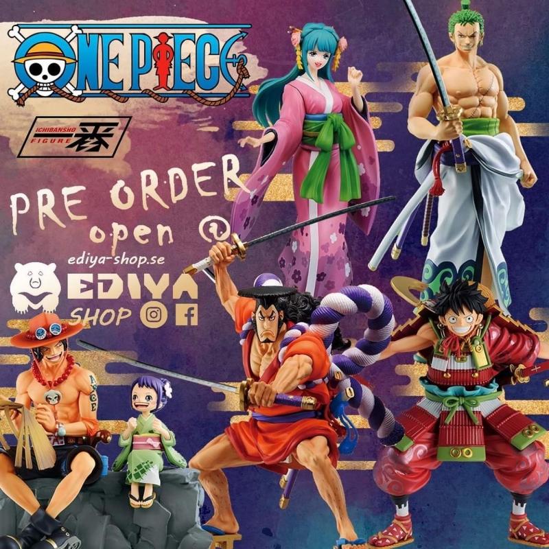 New One Piece Wano Kuni (Wano Country) Vol.2 Ichibansho,  March 2021