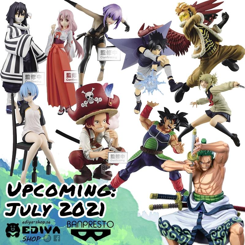 Banpresto New Figures in July 2021