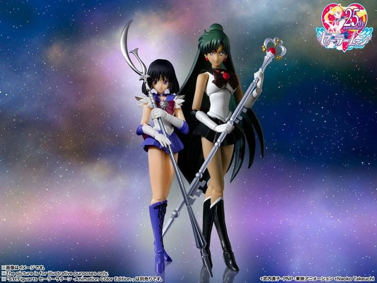 Sailor Moon Sailor Saturn (Animation Color Edition) S.H.Figuarts