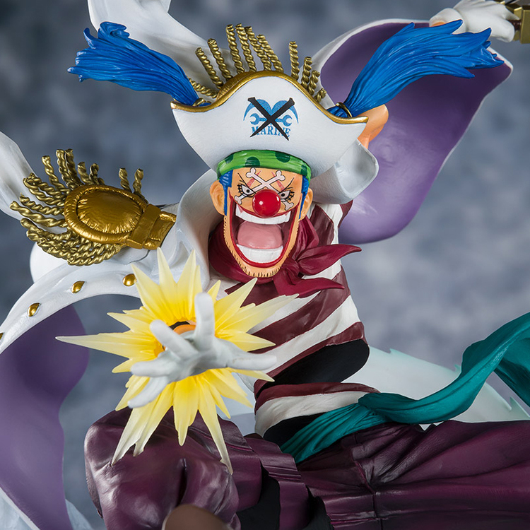 One Piece Buggy the Clown Paramount War Figuarts ZERO