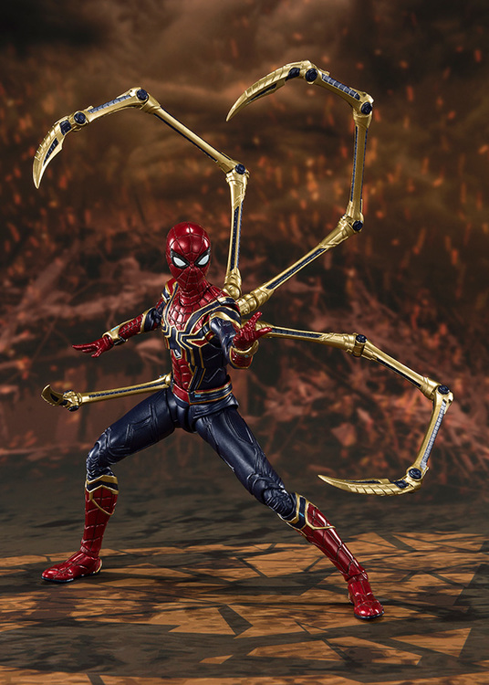 Marvel, Iron Spider, Avengers: Infinity War, S.H.Figuarts