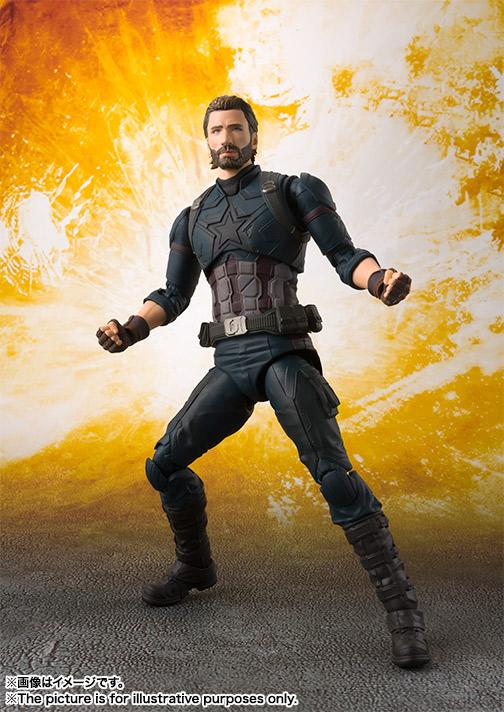 Marvel, Captain America, Avengers: Infinity War, S.H.Figuarts