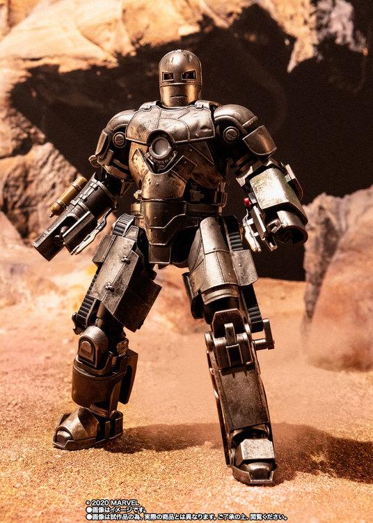 PRE-ORDER ETA 2020/11 - Iron Man Mark 1, Birth of Iron Man, S.H.Figuarts