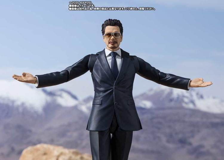 Marvel Tony Stark (Birth of Iron Man Edition) S.H.Figuarts