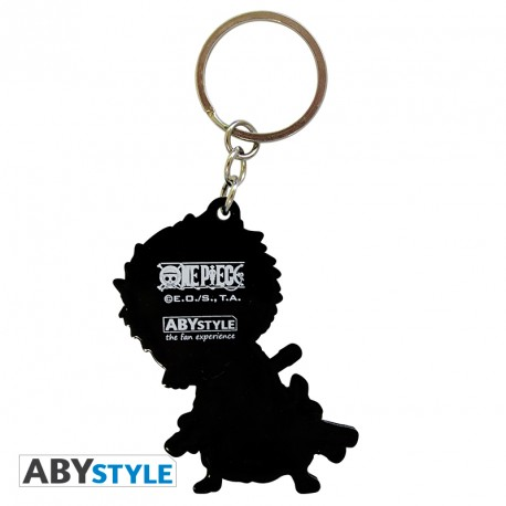 One Piece Zoro PVC Keychain