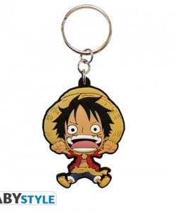 One Piece, Luffy PVC Nyckelring