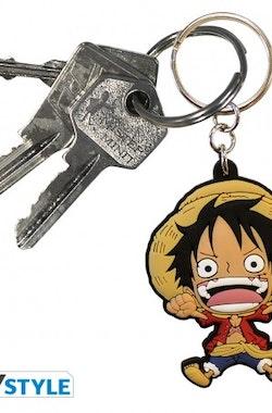 One Piece, Luffy PVC Nyckelring