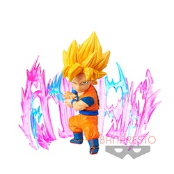 Dragon Ball, SS Goku, WCF, Plus Effect