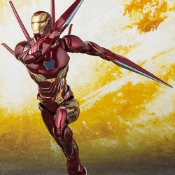 Marvel Avengers: Infinity War Iron Man MK-50 Nano-Weapon Set S.H.Figuarts