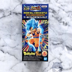 Dragon Ball, SS God SS Goku, WCF, Dokkan Battle 5th Anniversary