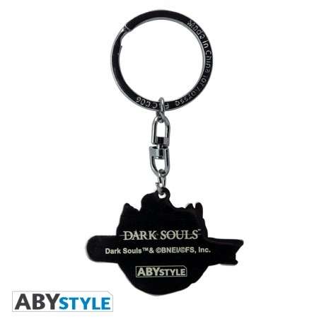 Dark Souls You died Keychain