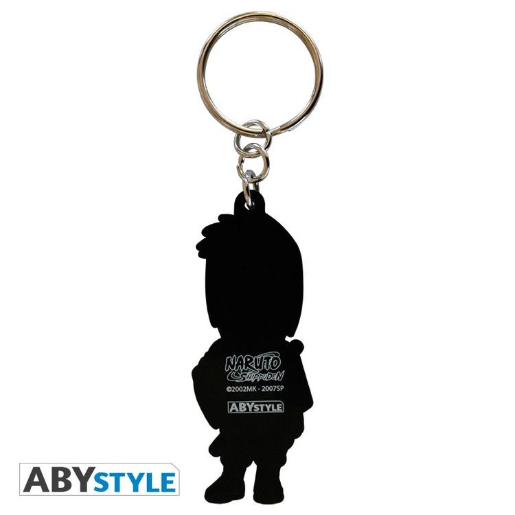 Naruto Shippuden Sasuke PVC Keychain