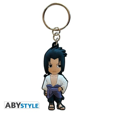 Naruto Shippuden, Sasuke PVC Keychain