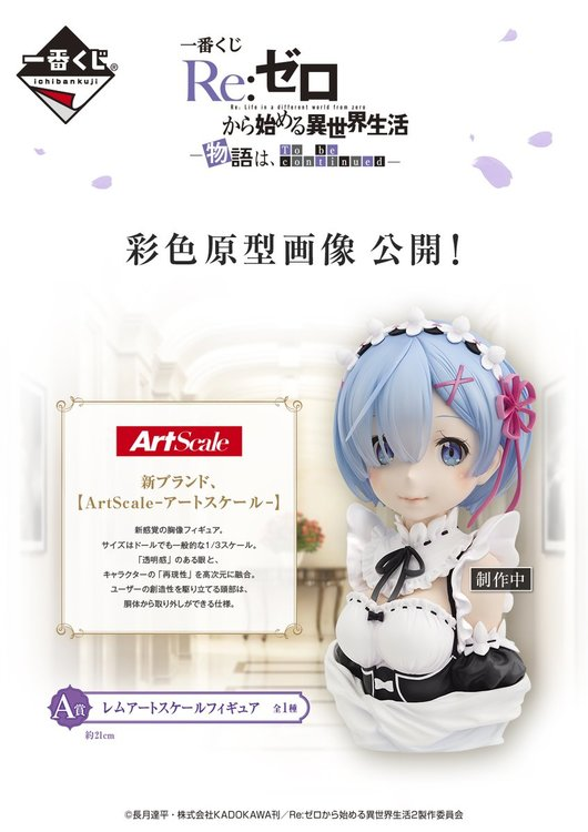 PRE-ORDER ETA 2021/4 - Re:Zero, Rem, Story Is To Be Continued, Figure