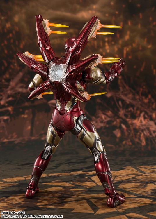 Marvel,Iron Man MK-85, Avengers: Endgame, S.H.Figuarts