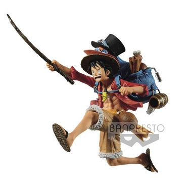 One Piece, Monkey D. Luffy, Three Brothers