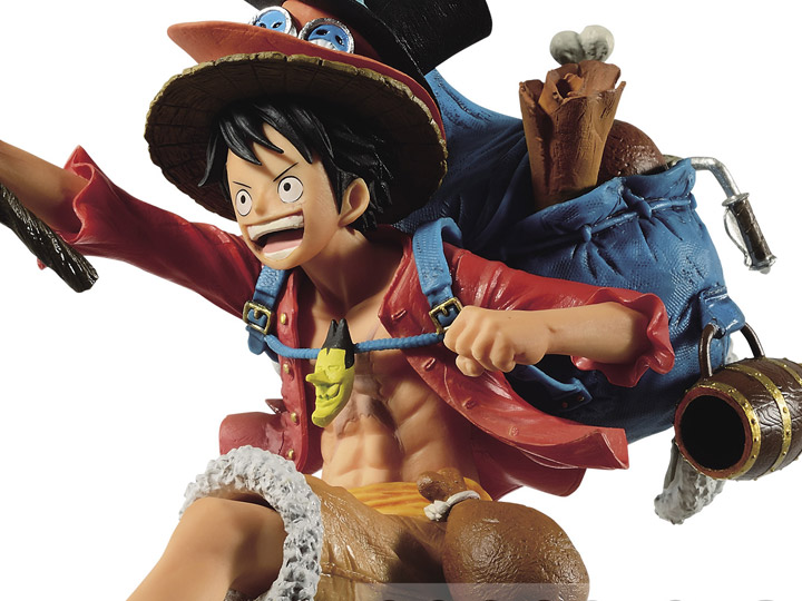 One Piece Monkey D. Luffy Three Brothers
