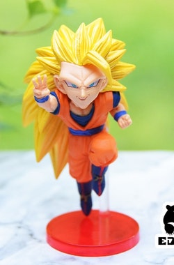 Dragon Ball, SS 3 Goku, WCF, Dokkan Battle 5th Anniversary