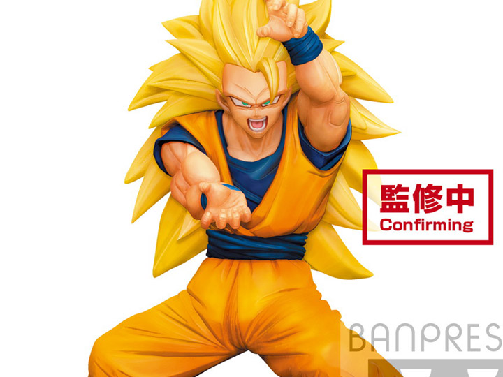 Dragon Ball, Super Saiyan 3 Goku, Super Warrior Vol. 4