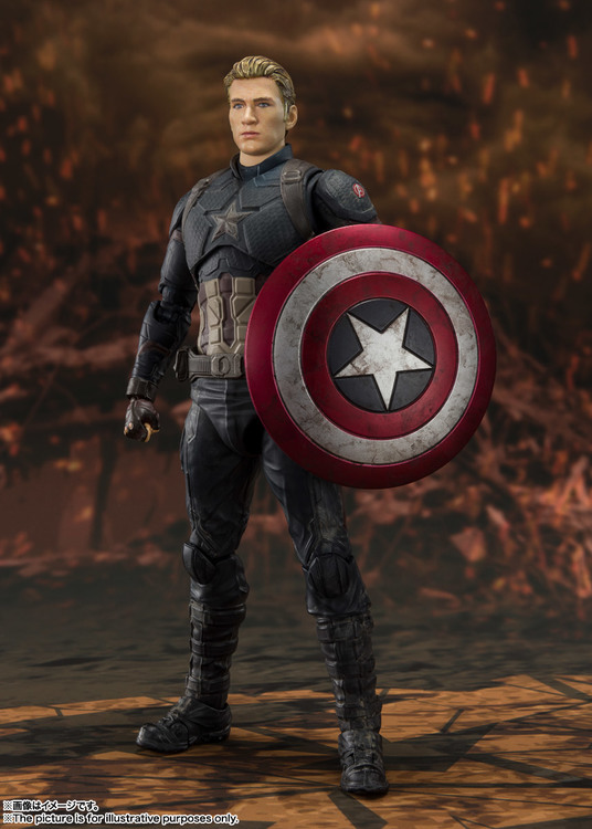 Marvel Avengers Endgame Captain America Final Battle