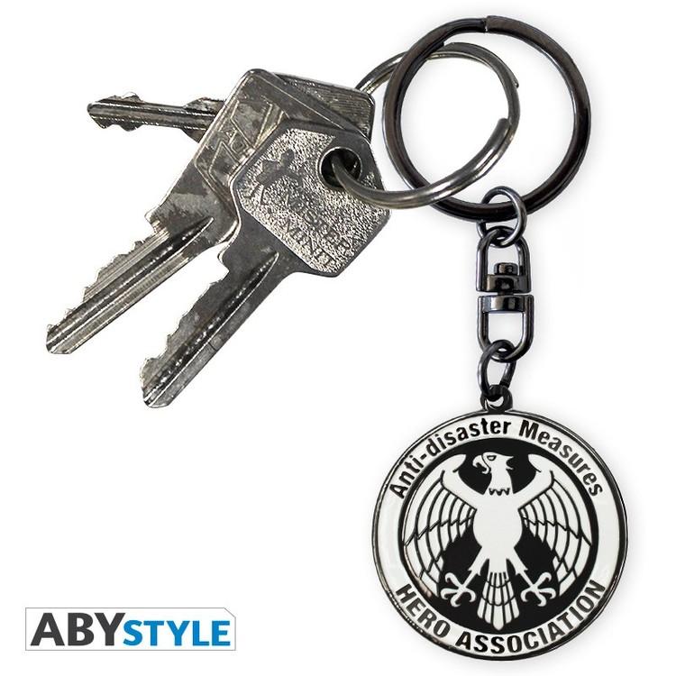 One Punch Man Hero Association Keychain