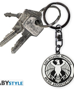 One Punch Man Hero Association Keychain