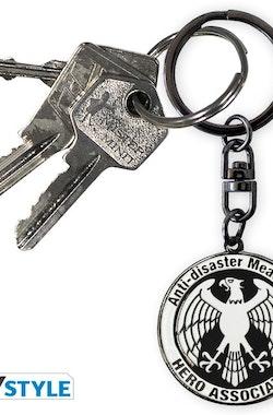 One Punch Man Hero Association Nyckelring