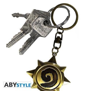 Hearthstone 3D Rosace Nyckelring