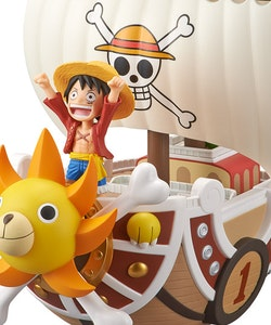 PRE-ORDER ETA 2021/2 - One Piece Mega World Collectable Figure Thousand Sunny Ship