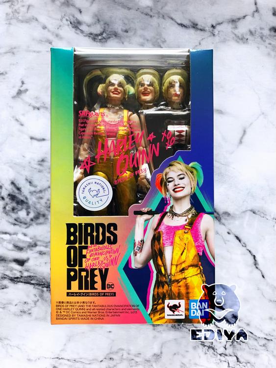 DC Comics Birds of Prey Harley Quinn S.H.Figuarts