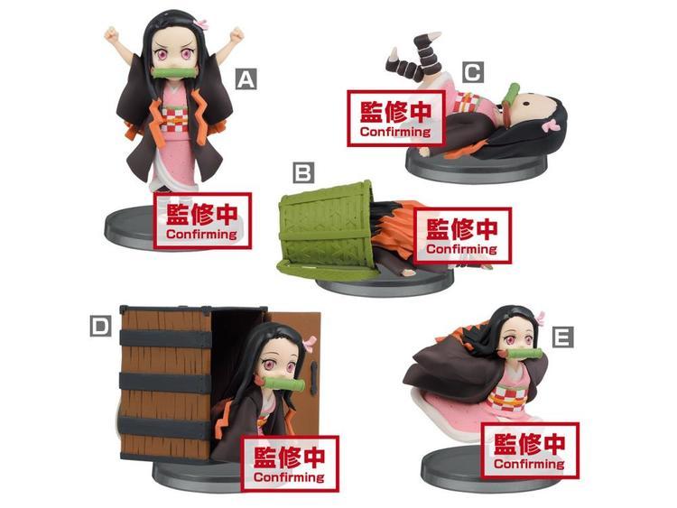 PRE-ORDER ETA 2021/4 - Demon Slayer: Kimetsu no Yaiba WCF Nezuko Kamado Set 5 Figures