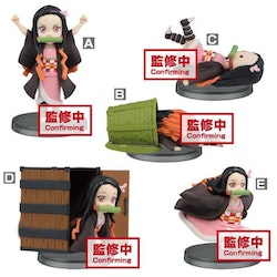 PRE-ORDER ETA 2021/4 - Demon Slayer: Kimetsu no Yaiba WCF Nezuko Kamado Set 5 Figures