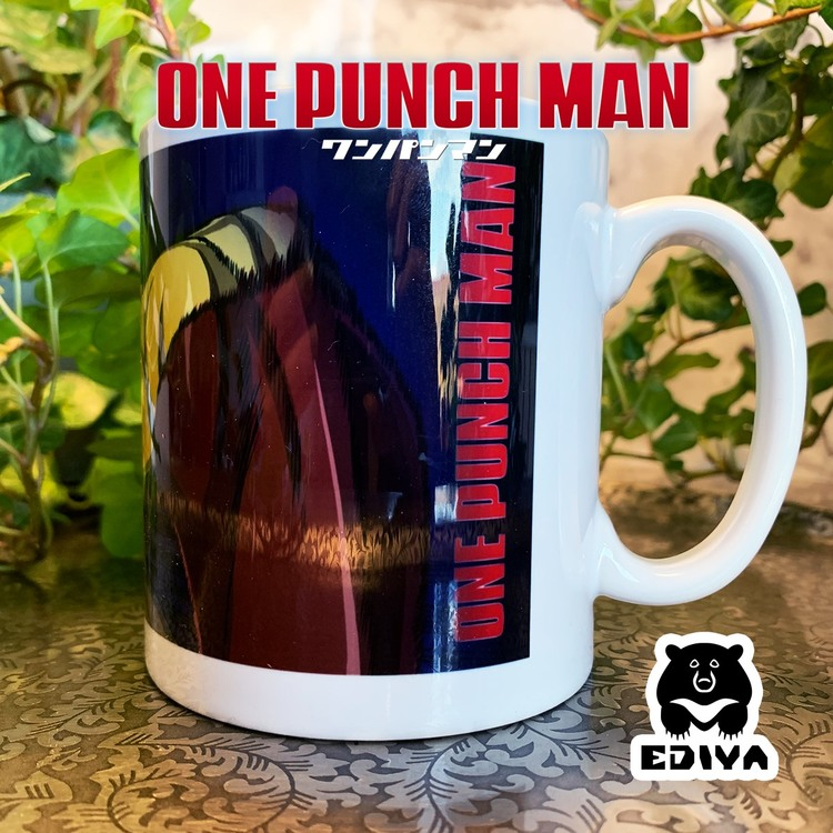 One Punch Man Saitama Mug 300ml