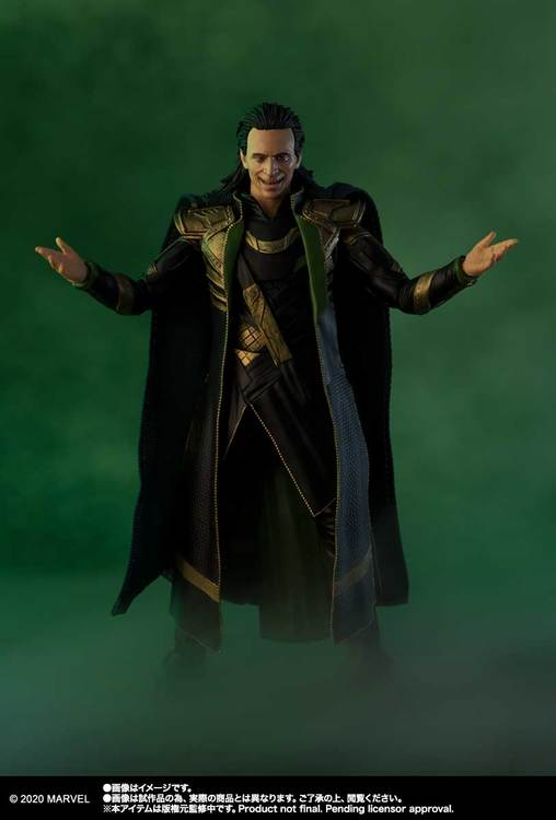 Marvel Avengers Loki S.H.Figuarts
