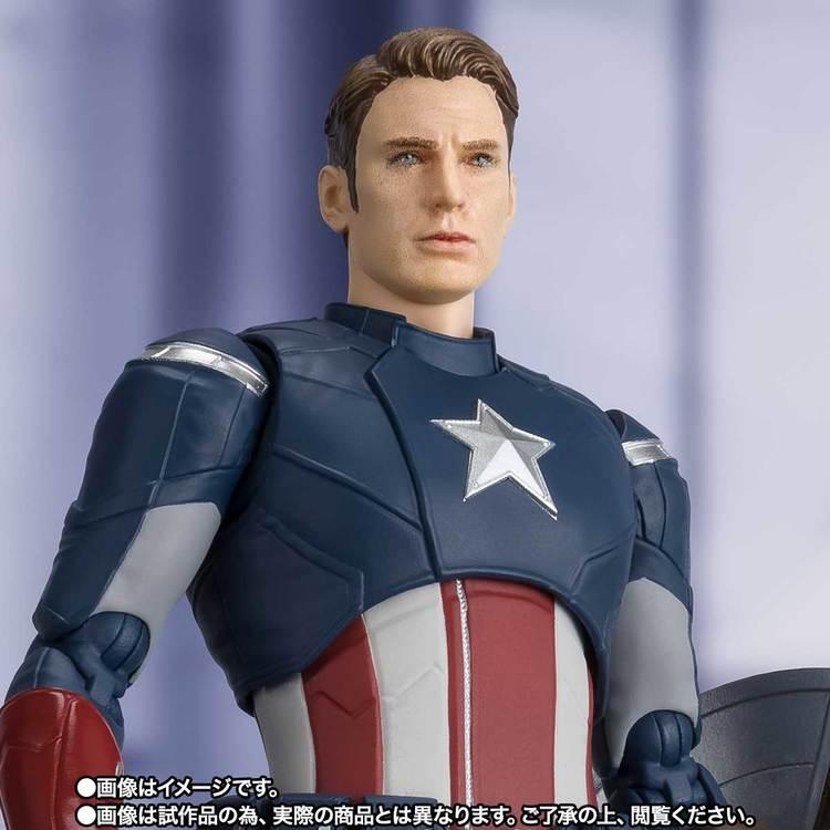 Marvel Avengers: End Game Captain America S.H.Figuarts