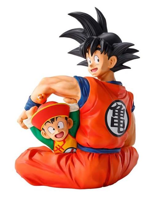 Dragon Ball Z Goku and Gohan Ichibansho The warriors protecting the earth