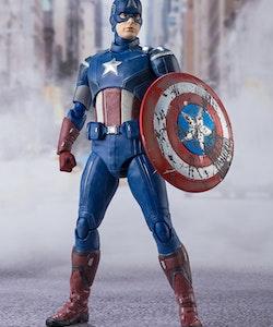 Marvel Avengers Assemble Captain America S.H.Figuarts