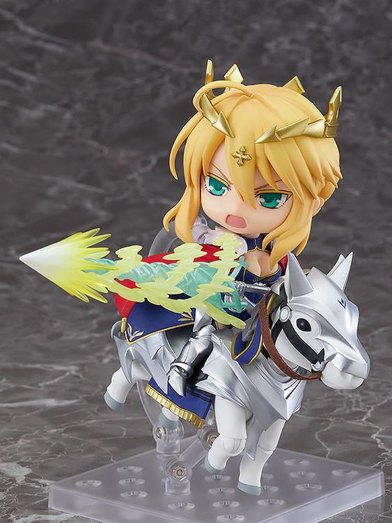 Fate/Grand Order Lancer/Altria Pendragon & Dun Stallion Nendoroid