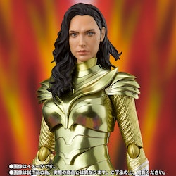 DC Comics Wonder Woman Golden Armor (WW84) S.H.Figuarts