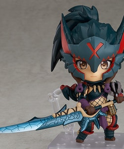 Monster Hunter World: Iceborne Hunter: Female Nargacuga Alpha Armor Ver. Nendoroid