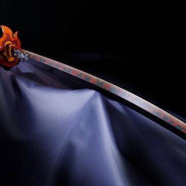 Demon Slayer: Kimetsu no Yaiba Kyojuro Rengoku's 1/1 Nichirin Sword