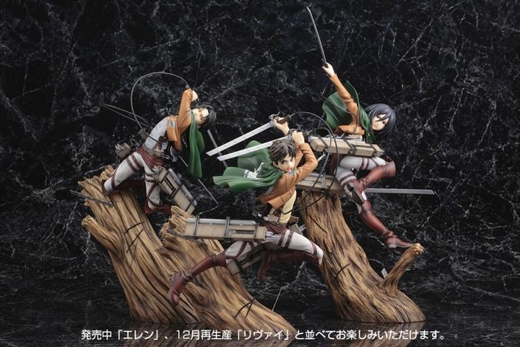 Attack on Titan Mikasa Ackerman Renewal Package Ver. Kotobukiya