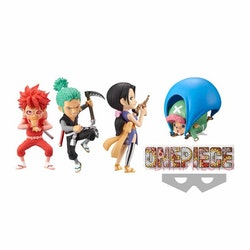 One Piece WCF -Wanokuni Style- Set of 4 Figures