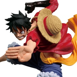 One Piece Monkey D. Luffy Scultures Big World Figure Colosseum 6 Vol.3